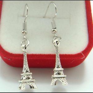 Jewelry - 3-D PARIS EIFFEL TOWER EARRINGS FASHION Statement